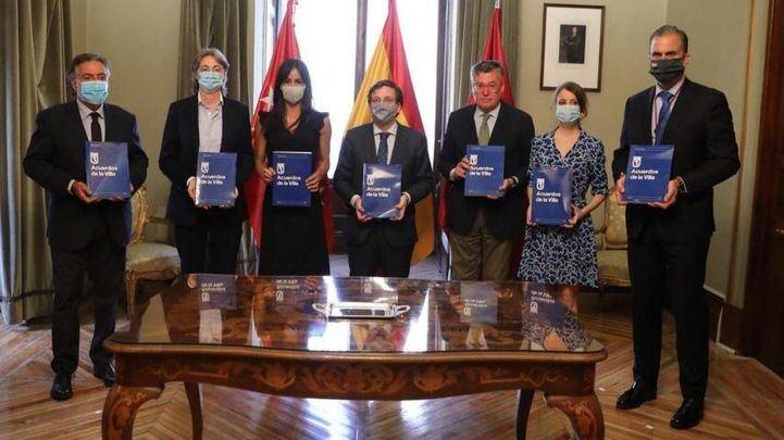 PP y PSOE difieren sobre el grado de cumplimiento de los Acuerdos de la Villa
