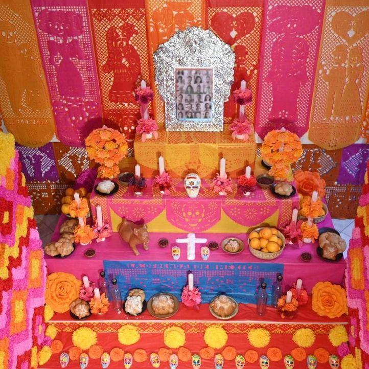 Casa de México recupera por estas fechas su altar de muertos