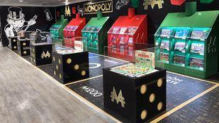 Exposición Monopoly en El Corte Inglés de Preciados