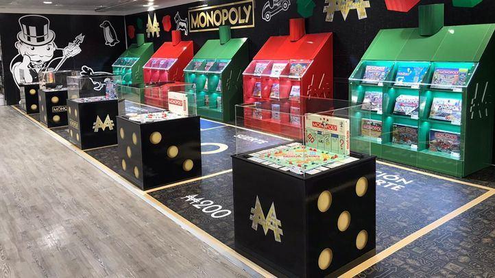 El Corte Inglés inaugura en Preciados una exposición de Monopoly con más de 50 versiones exclusivas