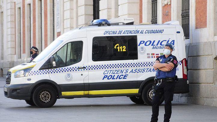 La Policía municipal de Madrid durante la pandemia