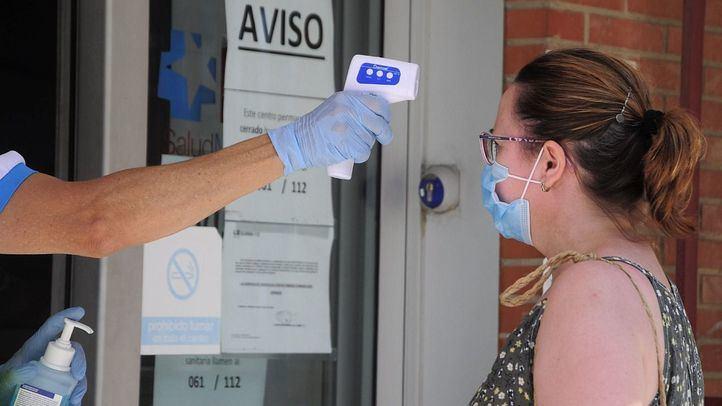 Realización de pruebas PCR en Fuenlabrada