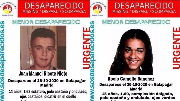 Desaparecidos desde el lunes dos menores de 14 y 15 años en Galapagar