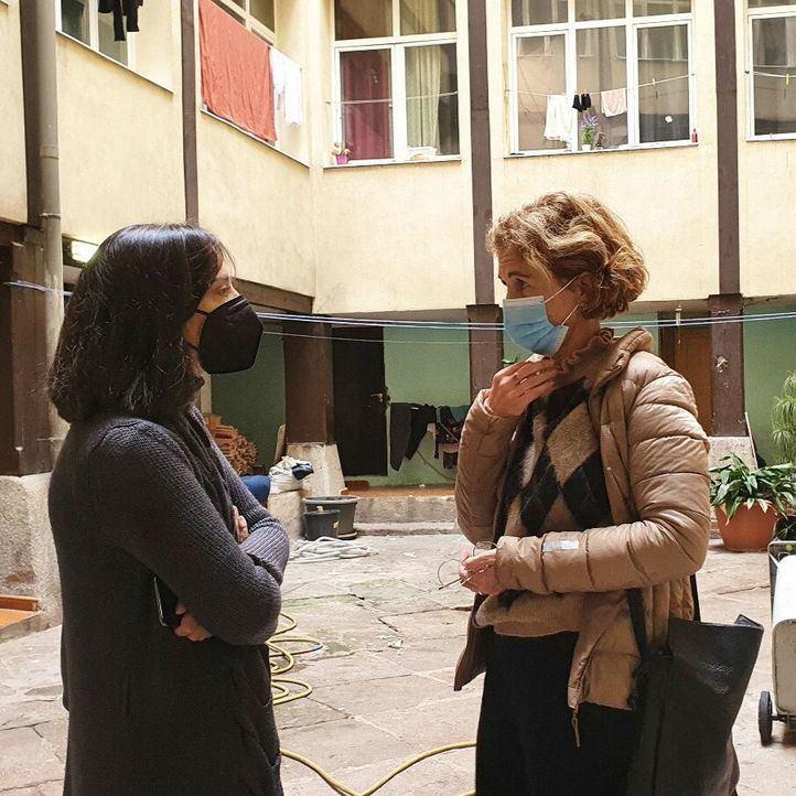El PSOE pide que se recupere la Casona de Doña Carlota y la dignidad de las familias que viven allí