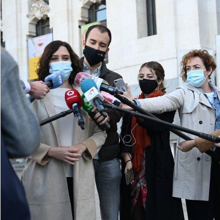 Ayuso critica que 'todo el mundo' opine sobre las medidas de Sanidad: 'Creamos una sensación de caos'