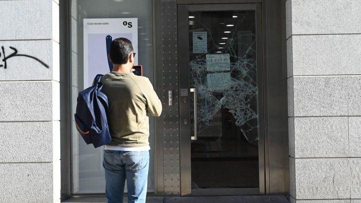 Así amanece Madrid tras las revueltas