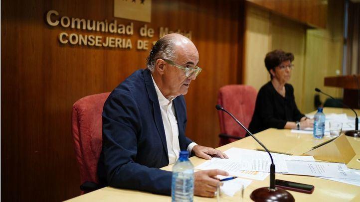 Antonio Zapatero, viceconsejero de Salud Pública Plan Covid-19 en la Comunidad de Madrid