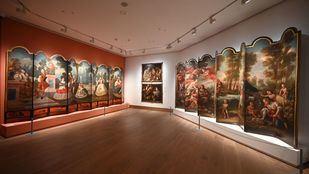 La casa de México acoge las pinturas de la Ciudad de México de los siglos XVII y XVIII