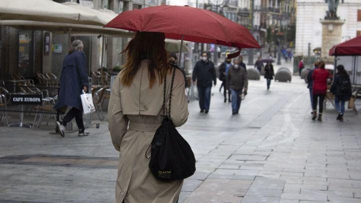 Un frente atlántico dejará lluvias durante toda la semana