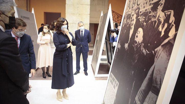 Ayuso inaugura '60 años de terrorismo en España a través de la prensa'