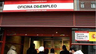 Sube el paro en Madrid un 1,41% en octubre con 5.997 desempleados más