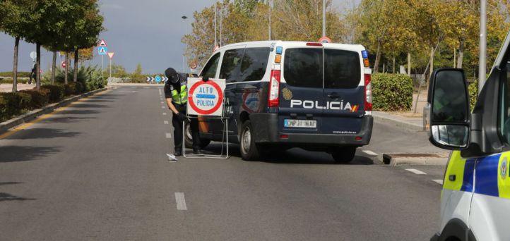 El cierre perimetral de la región por el puente de La Almudena, ya en vigor