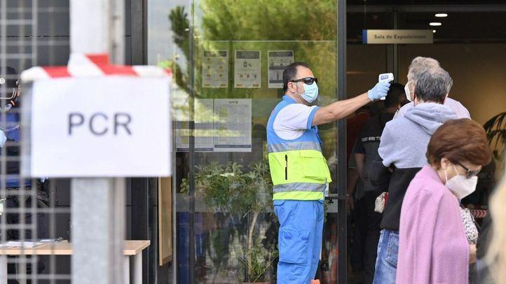 Madrid registra 2.347 casos nuevos, 1.073 en las últimas 24 horas, y 41 fallecidos