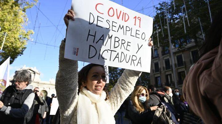 Protesta por la