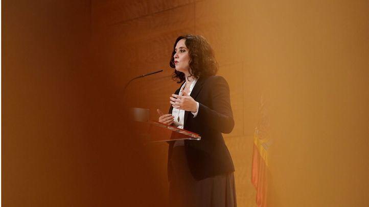 Díaz Ayuso destaca que la región va