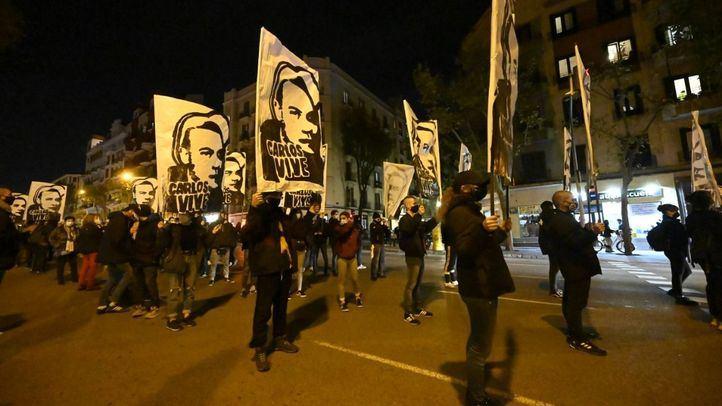 Colectivos antifascistas recuerdan a Carlos Palomino