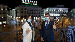 Ayuso pide a Leopoldo López ayuda para España