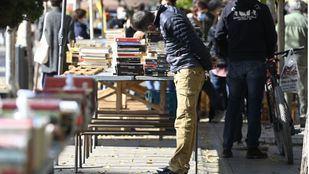 Día de las librerías en la Cuesta de Moyano