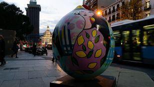 La exposición itinerante 'Lemon Art' decora Madrid con ocho limones gigantes