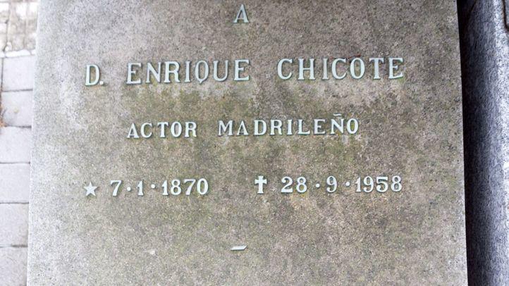 Tumba de Antonio Chicote