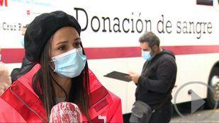 Cruz Roja llama a donar sangre en Madrid