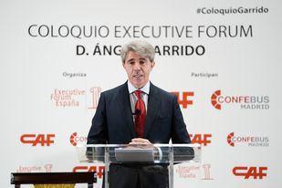 Ángel Garrido participa en el desayuno organizado por Executive Forum
