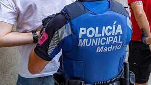 Foto de archivo de un agente de la Policía Municipal de Madrid