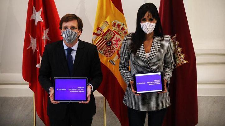 Presentación del proyecto de Presupuestos del Ayuntamiento de Madrid.