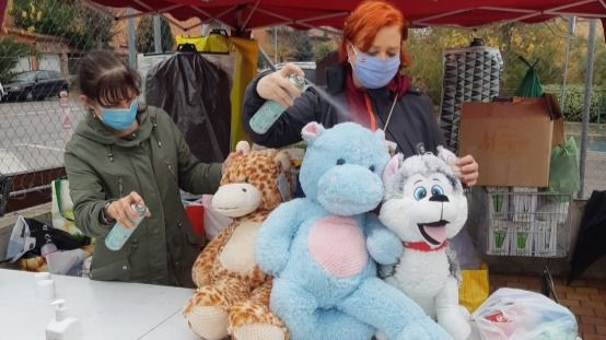 Éxito en la segunda recogida solidaria organizada por Vecinos por Rivas Vaciamadrid