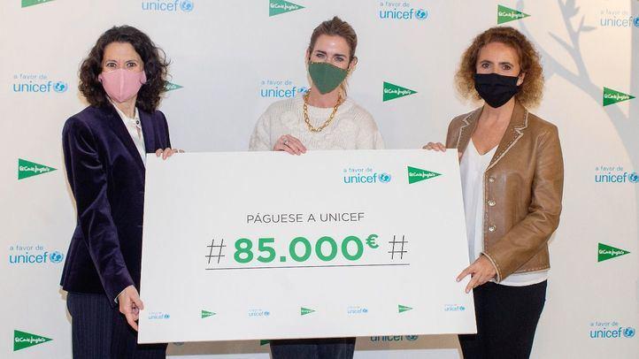 El Corte Inglés entrega 85.000 euros a UNICEF gracias a los Juguetes Solidarios