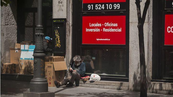 Madrid habilitará 601 camas para personas sin hogar