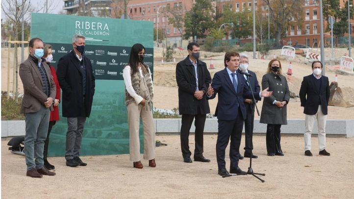 Ribera del Calderón, la zona residencial que sustituirá al antiguo estadio del Atleti