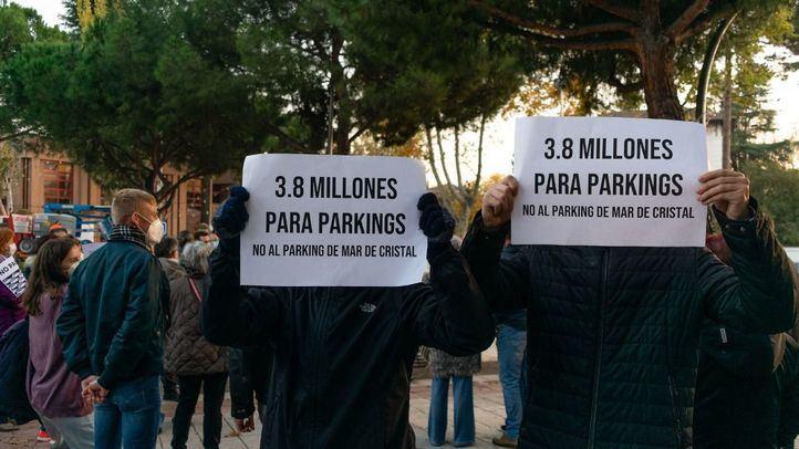 Vecinos de Hortaleza se oponen al proyecto del aparcamiento disuasorio en Mar de Cristal