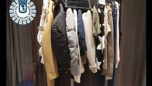 Cuatro detenidos por robar 850 euros en tiendas de ropa del distrito de Salamanca