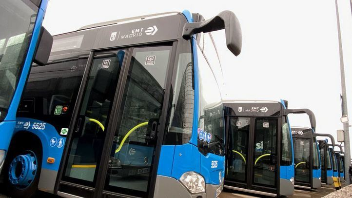 Los 45 kilómetros adicionales de carril bus de EMT provisionales serán permanentes