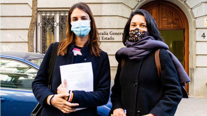 Rita Maestre presenta escrito contra Ortega Smith en la Fiscalía General