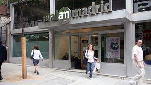 Entrada de las oficinas de Avalmadrid