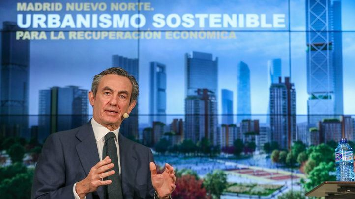 Álvaro Aresti, presidente de Distrito Castellana Norte