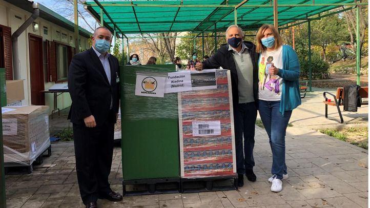 Mercadona dona 7,3 toneladas de productos de primera necesidad a la Fundación Aladina