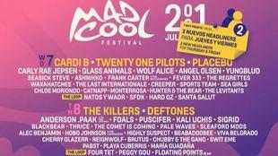 Mad Cool Festival anuncia 27 nuevas bandas para el cartel del 2021
