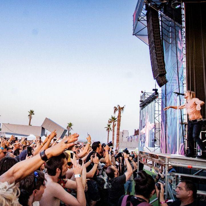 Iggy Pop, en el festival Mad Cool 2019