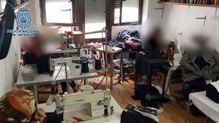 Liberadas seis mujeres encerradas en un taller de costura donde eran explotadas laboralmente