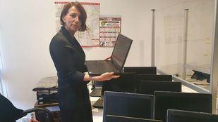 Las Juntas de Villaverde y Villa de Vallecas trabajan para abrir aulas de acceso libre a ordenadores donados