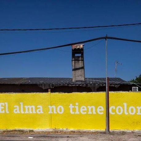 Intervención artística de Boa Mistura en la Cañada.
