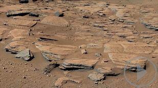El hallazgo que sugiere la posibilidad de que existió vida en Marte
