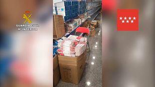Intervenidas 584.000 mascarillas y más material sanitario por incumplir la normativa