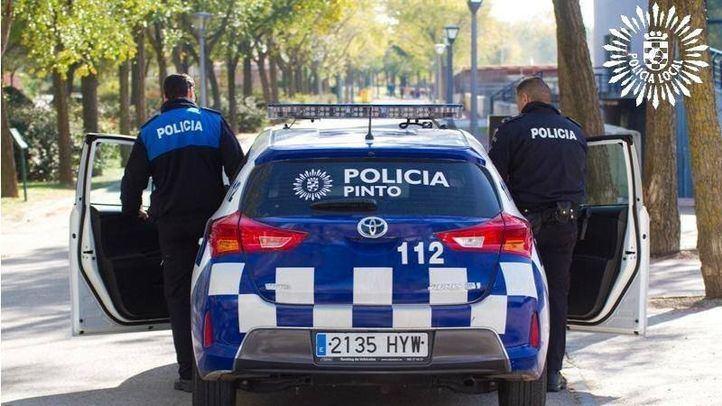 Detenidas cuatro personas por secuestrar y agredir a un policía local de Pinto