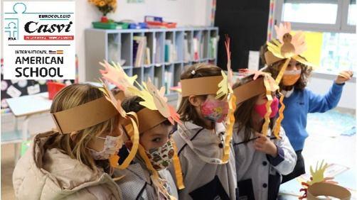 Thanksgiving Day en Casvi International American School
