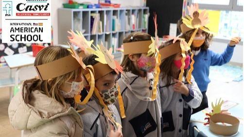 Thanksgiving Day: la tradición americana se instala en las aulas