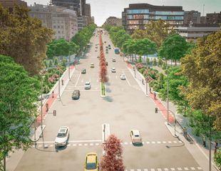 Museo al aire libre y más espacio peatonal en el nuevo 'bulevar del arte' en Joaquín Costa
